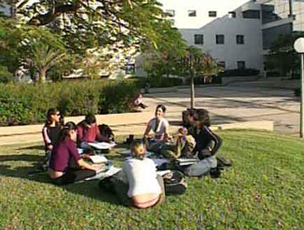 הסטודנטים יכולים להמשיך לנוח  (צילום: חדשות)