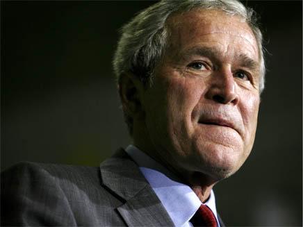 """נשיא ארה""""ב ג'ורג' בוש (צילום: רויטרס)"""