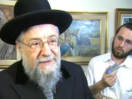 הרב הראשי לשעבר , הרב לאו (צילום: חדשות)
