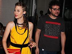 אמילי קרפל ובעלה, אירוע אגאדיר (צילום: mako)