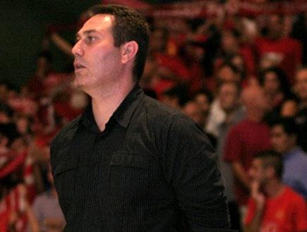 גיא גודס מאמן הפועל ירושלים (צילום: גיא בן זיו, מערכת ONE)