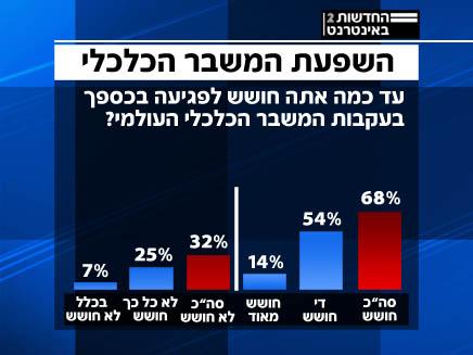 סקר כלכלי (צילום: חדשות)