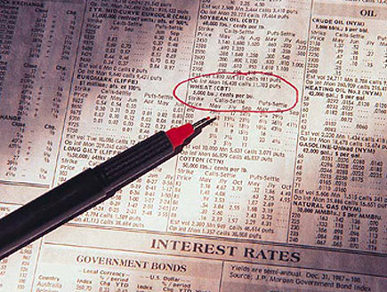 מניות בעיתון (צילום: Digital Vision., GettyImages IL)