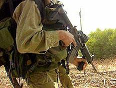חייל עם נשק (צילום: חדשות)