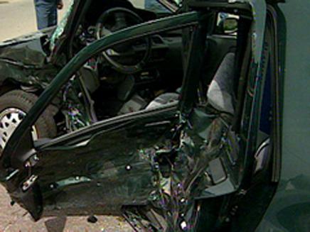 תאונת דרכים (צילום: חדשות)