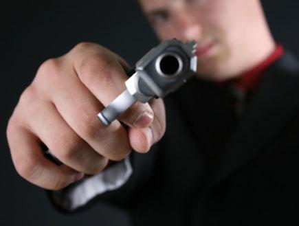 אקדח (צילום: istockphoto)