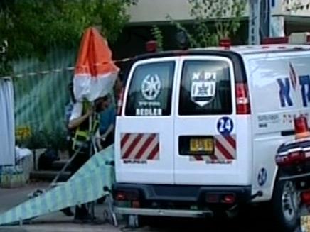 זירת רצח באשדוד (צילום: חדשות)