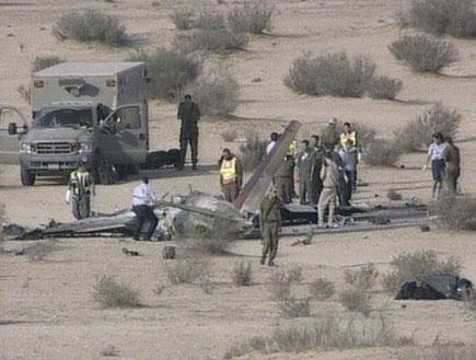 תאונת מטוס קטלנית בחיל האוויר (תמונת AVI: חדשות)