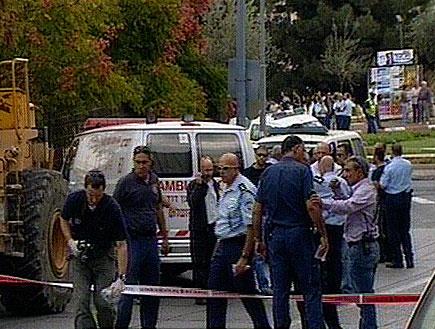הרוג ופצוע בפיגוע דקירה בי-ם (תמונת AVI: חדשות)