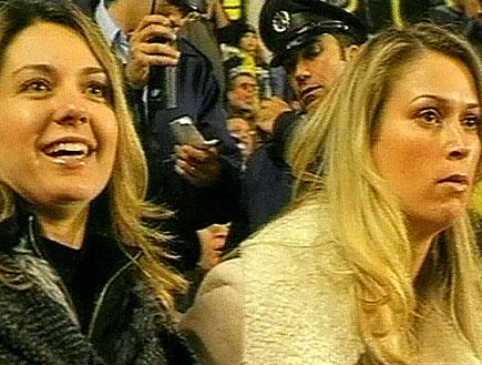 נשות הכדורגלנים פותחות את הפה (תמונת AVI: חדשות)