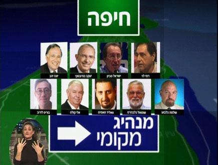 חיפה בוחרת ראש עיר (צילום: חדשות)