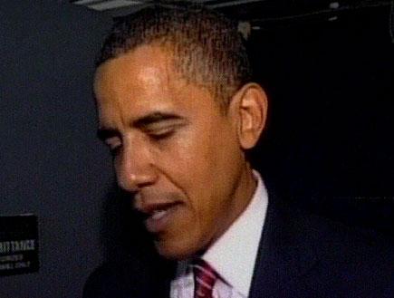 ברק אובמה על הכוונת (צילום: חדשות)