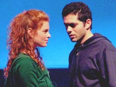 מתוך המחזה אקווס (צילום: mako)