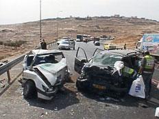 אילוסטרציה תאונה (צילום: חדשות)