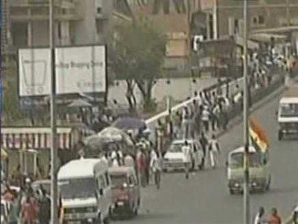 ברח או שוחרר? חטוף בגאנה (תמונת AVI: חדשות)