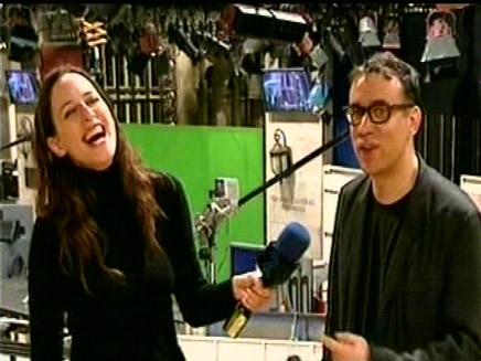 יונית לוי בשידור בסאטרדיי נייט לייב (צילום: חדשות)