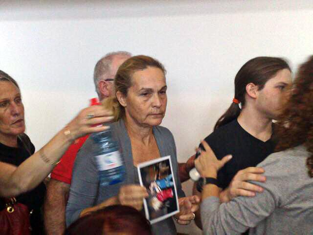 """ליאורה אהרונסון,אמה של מיטל אהרונסון ז""""ל שנהרגה בתאונת פגע וברח (צילום: חדשות)"""