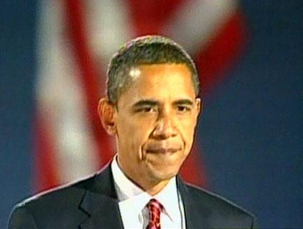 אובמה חוגג, מקיין מפסיד בכבוד