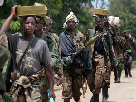 לוחמים בקונגו (צילום: רויטרס)