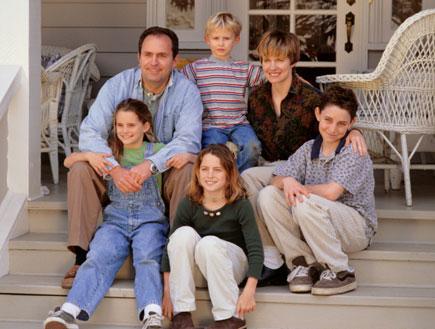 משפחות מורכבות - משפחה (צילום: Getty Images, GettyImages IL)