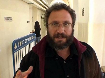 נועם פדרמן היום בבית המשפט (צילום: חדשות)