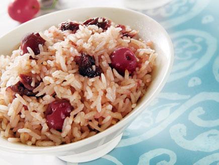 אורז עם דובדבנים- אורז בקלי קלות