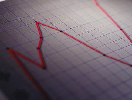 גרף אדום (צילום: Ryan McVay, GettyImages IL)