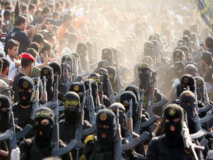 חמושים פלסטינים, ארכיון (צילום: רויטרס)