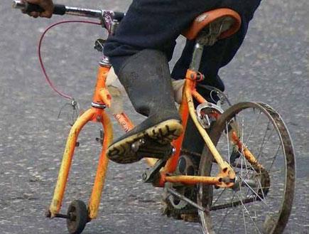 אופניים בלי גלגל