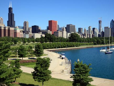 אגם מישיגן בשיקאגו (צילום: Jeremy Edwards, Istock)