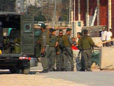 מהומות בחברון (תמונת AVI: חדשות)