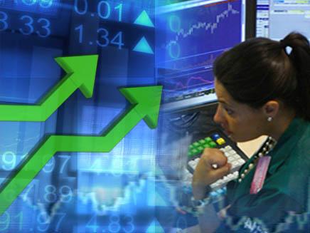עליות בבורסה, אילוסטרציה (צילום: חדשות)