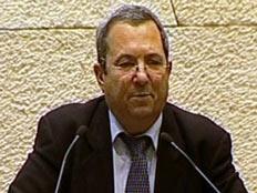 אהוד ברק בכנסת, היום (תמונת AVI: ערוץ הכנסת)