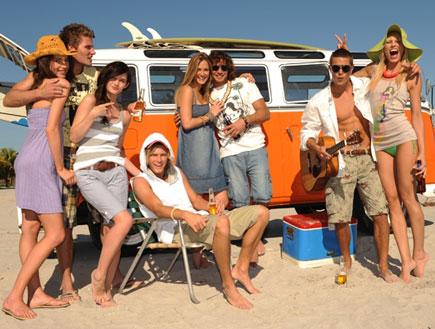 בר רפאלי ונעם תור פוקס קיץ 2009 תמונה קבוצתית (צילום: יניב אדרי)