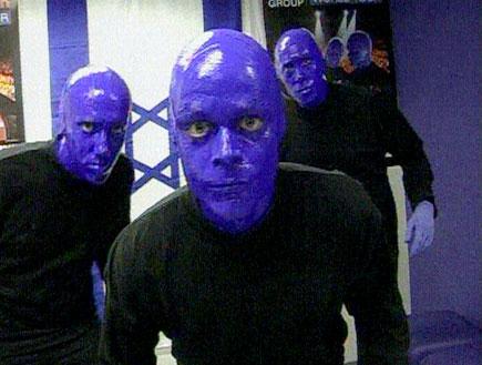 הפנים מאחורי המסכה הכחולה (תמונת AVI: חדשות)