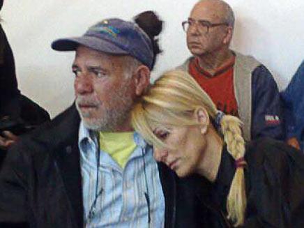 אהובה וזלמן אלפרון, הבוקר בבית המשפט (תמונת AVI: גלעד שלמור, חדשות)