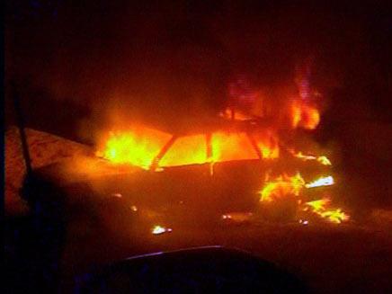 האלימות בחברון: כך זה נראה, אמש  (תמונת AVI: חדשות)