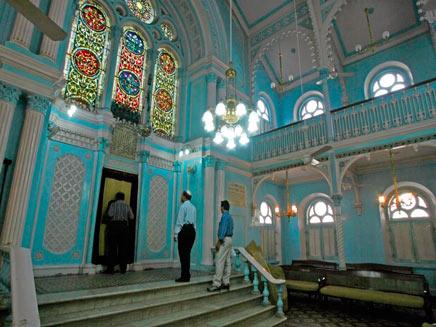 בית כנסת במומבאי (צילום: רויטרס)