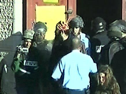 מהומות בבית המריבה בחברון. ארכיון (תמונת AVI: חדשות)