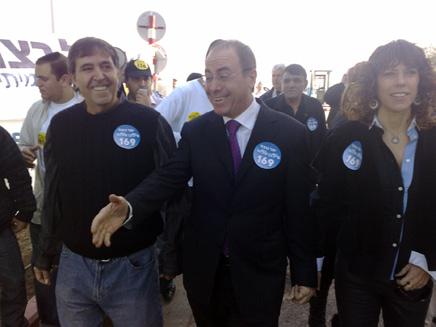 סילבן שלום ביום הפרימריז בליכוד (צילום: יוסי זילברמן חדשות2)