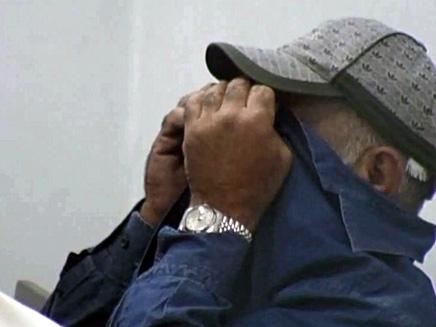 ניסים אלפרון בבית המשפט (צילום: חדשות 2)