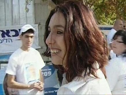 מירי רגב בקריית גת, היום (צילום: חדשות)
