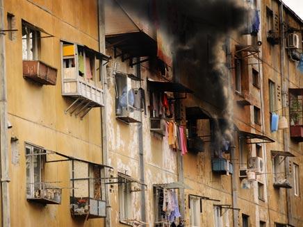 שריפה בבניין מגורים. צילום ארכיון (צילום: אילוסטרציה)