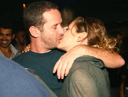 אפרת בוימולד ובעלה לעתיד, אירוע דורון מדלי (צילום: שוקה)
