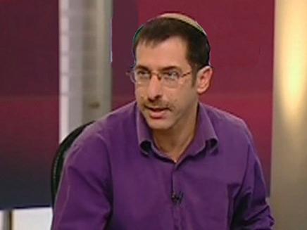 אורי אורבך באולפן שש עם (צילום: חדשות 2)
