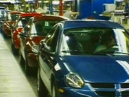 צרות במפעלים של קרייזלר (צילום: חדשות 2)