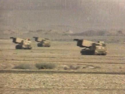 תמונה לוידאופדיה מלחמת המפרץ (תמונת AVI: חדשות)