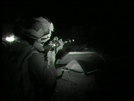 חייל מיחידת יהלום (צילום: חדשות 2)