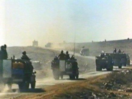 טנקים במלחמת יום הכיפורים (תמונת AVI: חדשות)