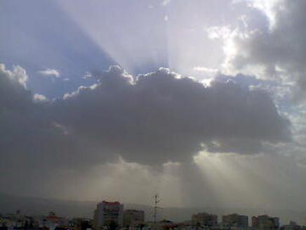 שמיים מעוננים. ארכיון (צילום: גולשי חדשות 2)